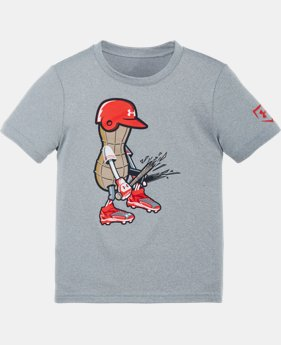 Boys' Pre-School UA Baseball Peanut T-Shirt