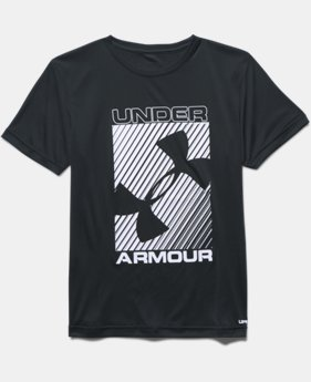 Boys' UA Sun Slasher Short Sleeve