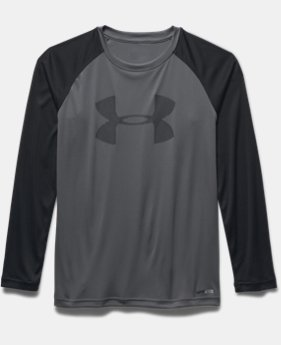 Boys' UA Sun Slasher Long Sleeve