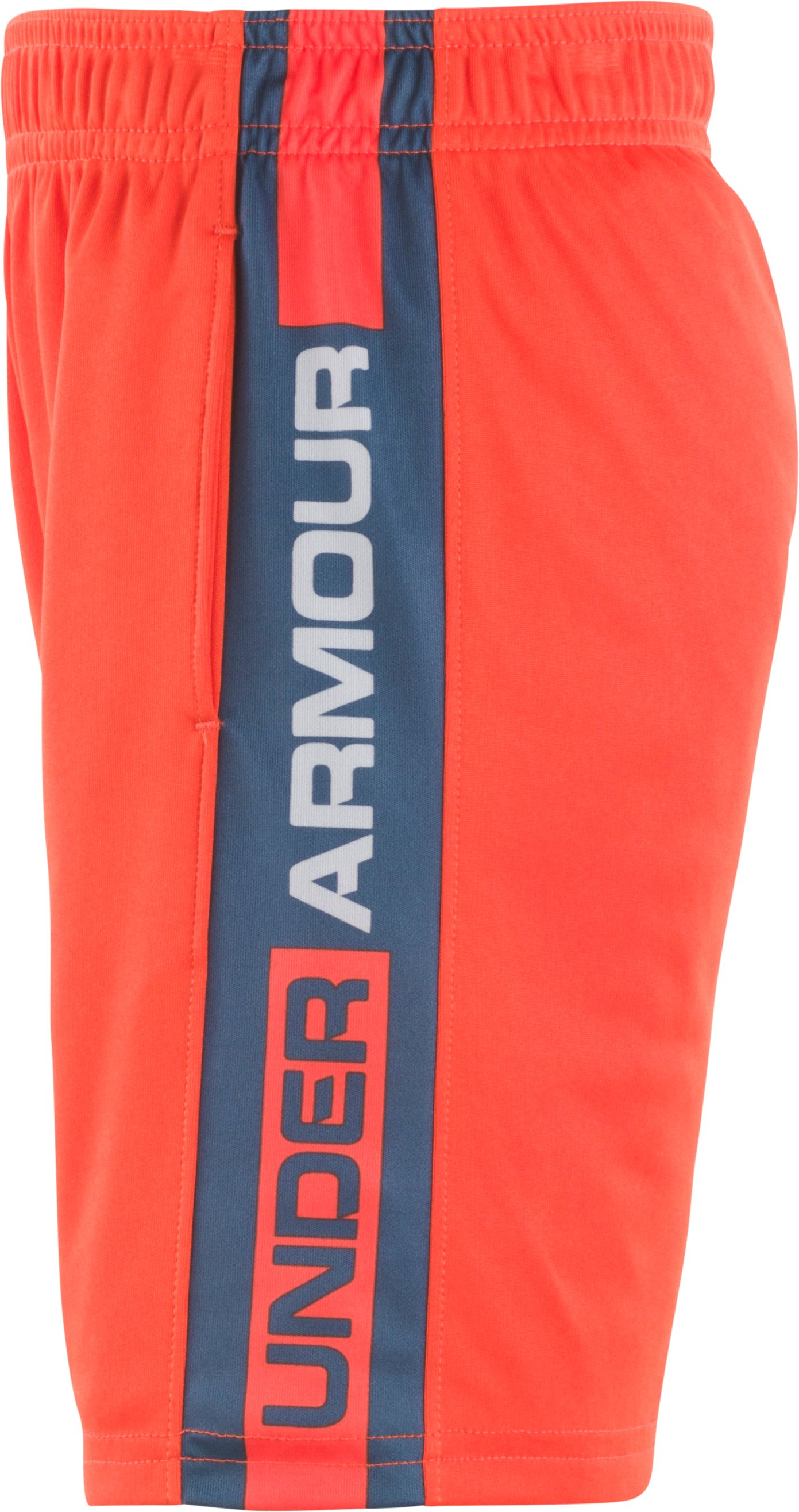Boys' Pre-School UA Eliminator Shorts, Dark Orange