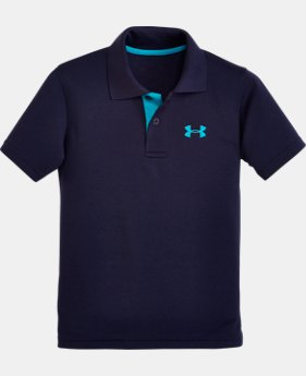 New Arrival Boys' Pre-School UA Play Polo LIMITED TIME: FREE SHIPPING 1 Color $26.99