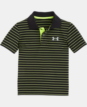 New Arrival Boys' Toddler UA Heathered Yarn Dye Polo LIMITED TIME: FREE SHIPPING 1 Color $28.99