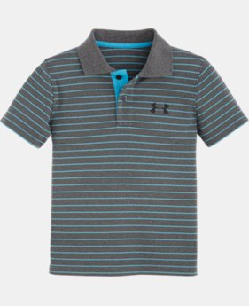 Boys' Toddler UA Heathered Yarn Dye Polo