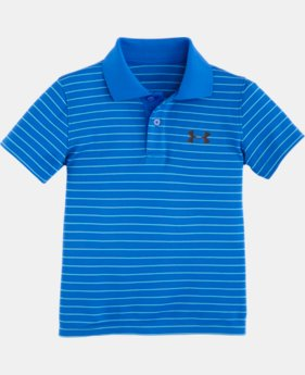 New Arrival Boys' Toddler UA Heathered Yarn Dye Polo LIMITED TIME: FREE U.S. SHIPPING  $21.99