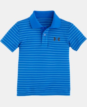 New Arrival Boys' Toddler UA Heathered Yarn Dye Polo LIMITED TIME: FREE U.S. SHIPPING 1 Color $21.99
