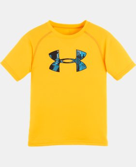 Boys' Pre-School UA Anaglyph Big Logo T-Shirt
