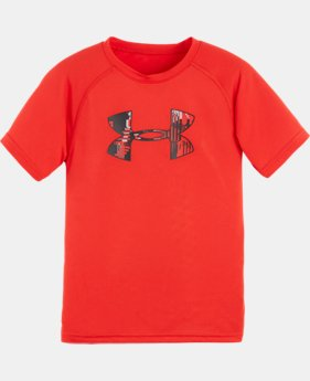 Boys' Toddler UA Anaglyph Big Logo T-Shirt