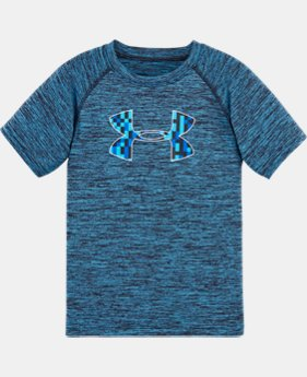 Boys' Toddler UA Multi-Pixel Big Logo T-Shirt