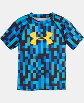 Boys' Pre-School UA Big Pixel Zoom Big Logo T-Shirt