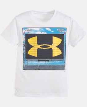 Boys' Toddler UA Jumbotron Logo T-Shirt LIMITED TIME: FREE U.S. SHIPPING  $13.99
