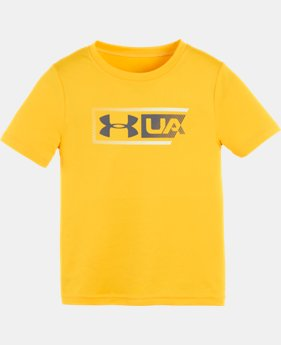 Boys' Pre-School UA Branded Vertical T-Shirt