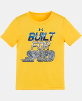 Boys' Pre-School UA Built For Speed T-Shirt