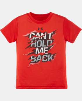 Boys' Toddler UA Can't Hold Me Back T-Shirt