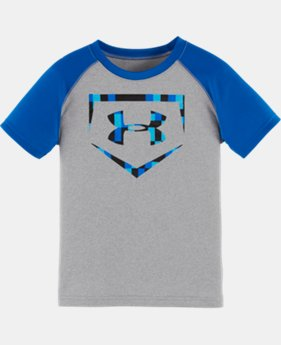Boys' Toddler UA Pizel Zoom Homeplate T-Shirt
