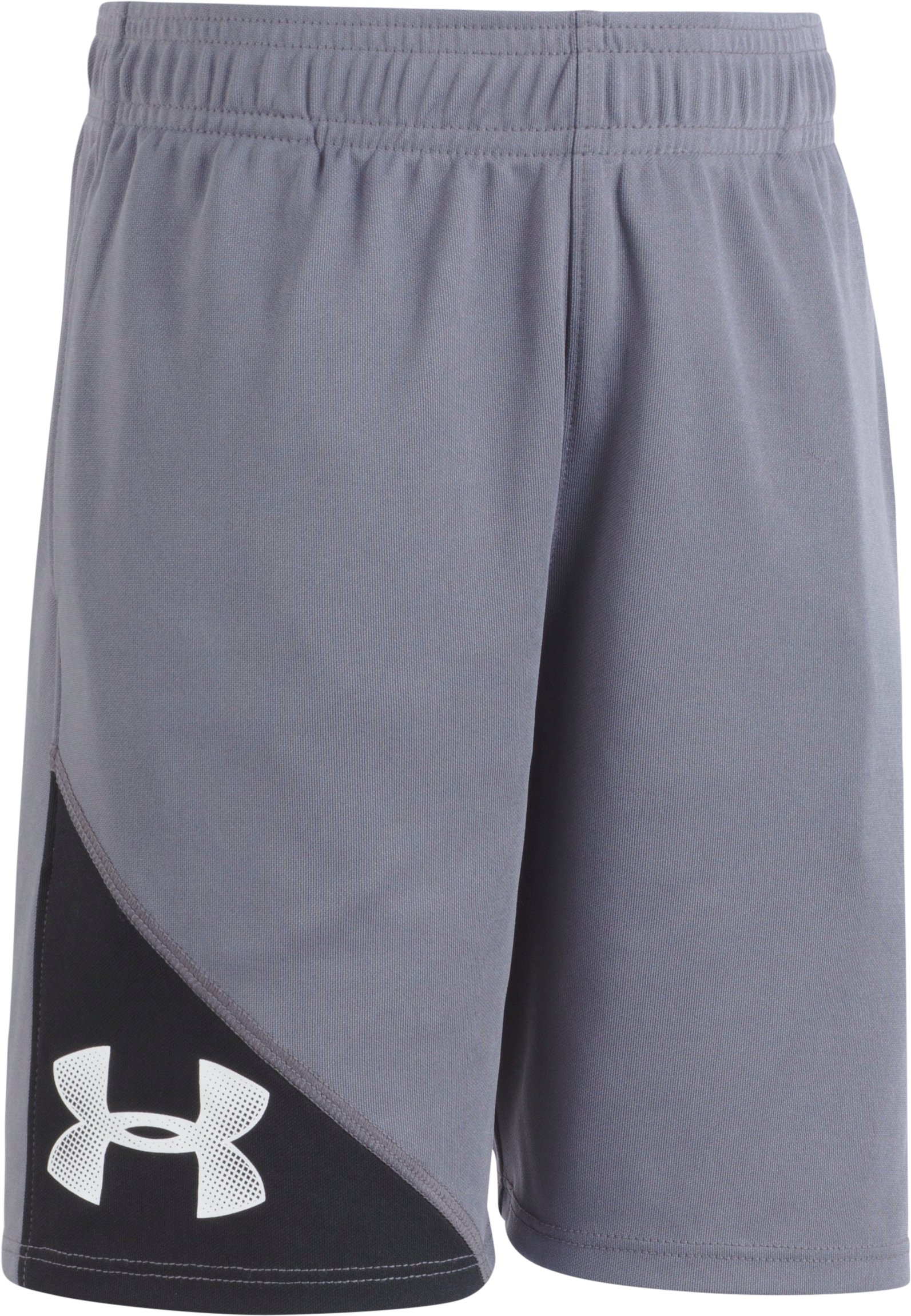 Boys' Pre-School UA Prototype Shorts, Graphite, Laydown