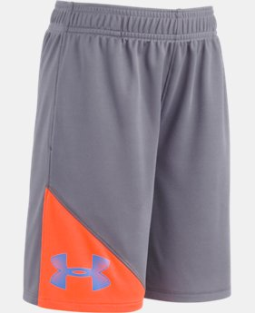 Boys' Pre-School UA Prototype Shorts  1 Color $18