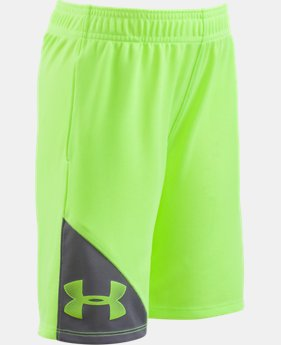Boys' Pre-School UA Prototype Shorts  2 Colors $18