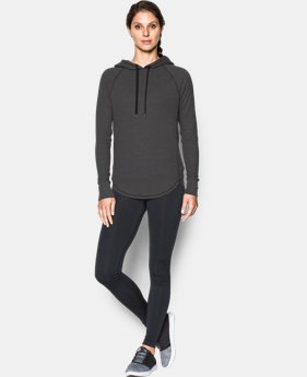 New to Outlet Women's UA Waffle Hoodie  2 Colors $37.99