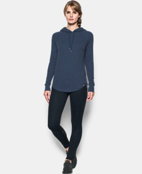 New to Outlet Women's UA Waffle Hoodie  3 Colors $37.99