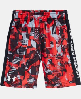 Boys' Toddler UA Anaglyph Eliminator Shorts LIMITED TIME: FREE SHIPPING  $18.99