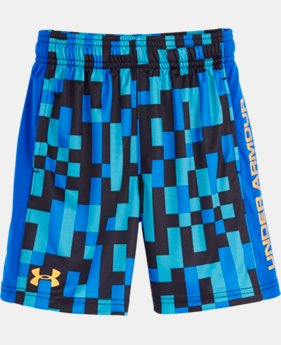 Boys' Pre-School UA Pixel Zoom Eliminator Shorts