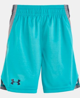 New Arrival Boys' Pre-School UA Select Shorts   $24.99