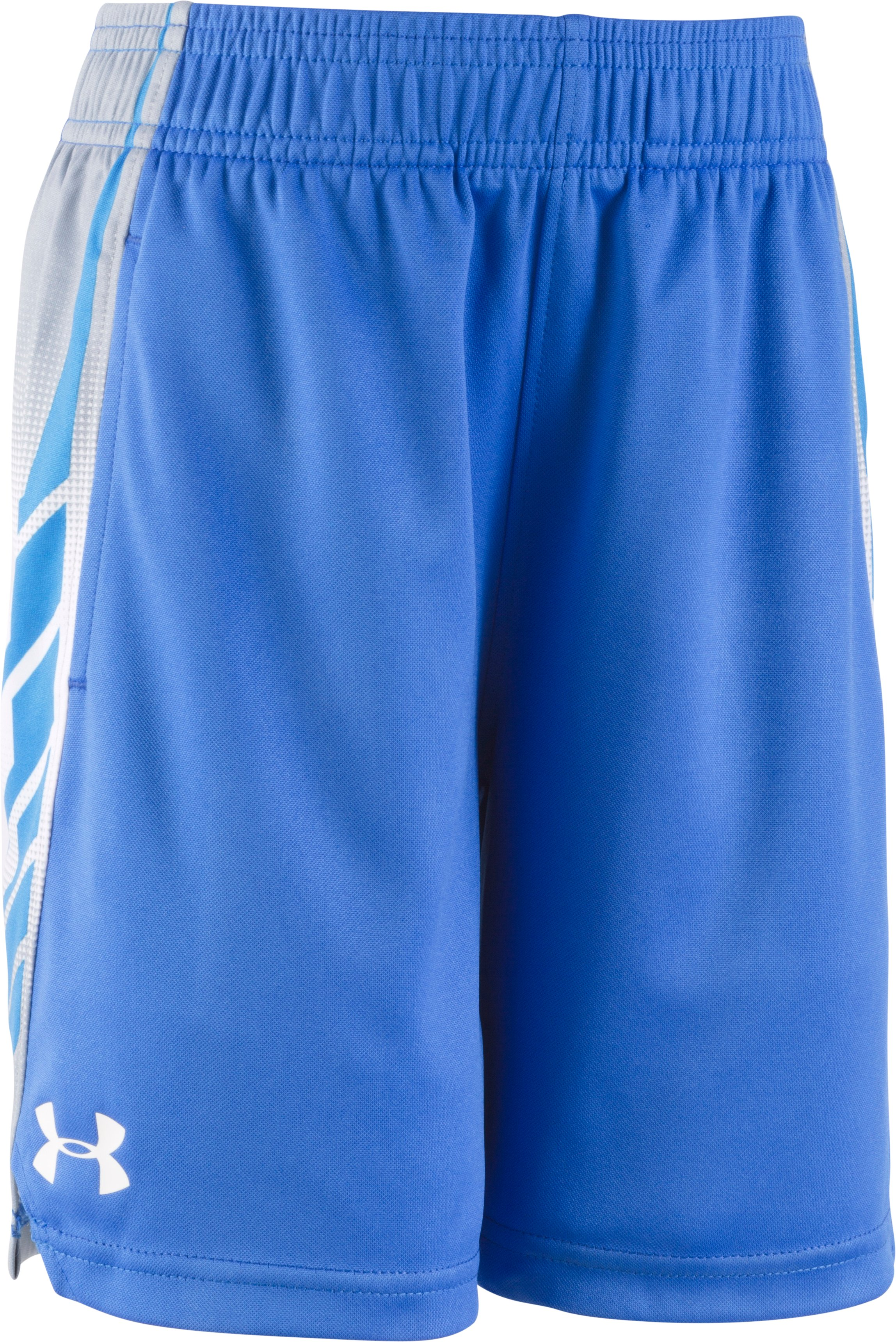 Boys' Toddler UA Select Shorts, ULTRA BLUE, Laydown