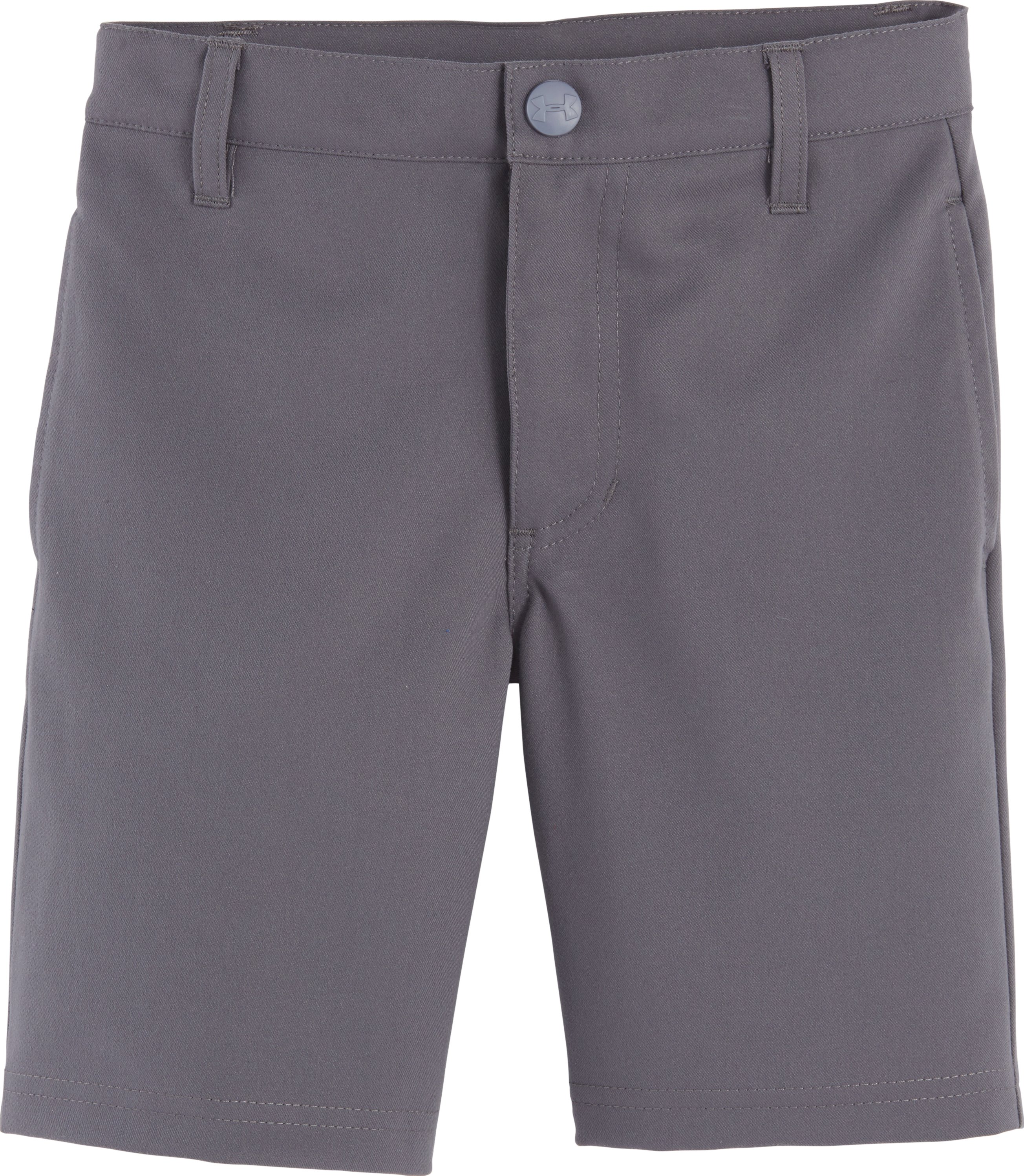 Boys' Pre-School UA Golf Medal Play Shorts, Graphite, Laydown