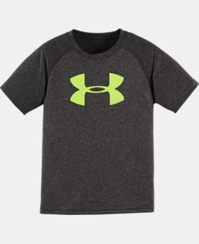 Boys' Pre-School UA Solid Big Logo T-Shirt LIMITED TIME: FREE U.S. SHIPPING  $17.99