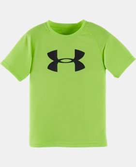 Boys' Pre-School UA Optic Big Logo T-Shirt LIMITED TIME: FREE SHIPPING 1 Color $17.99