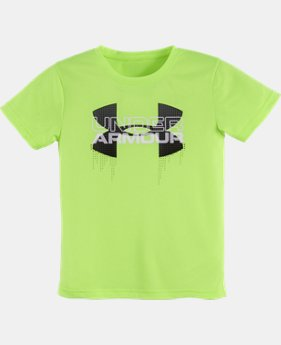 Boys' Pre-School UA Big Logo Iteration T-Shirt