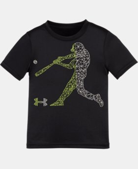 Boys' Pre-School UA Geo Baseball Man T-Shirt