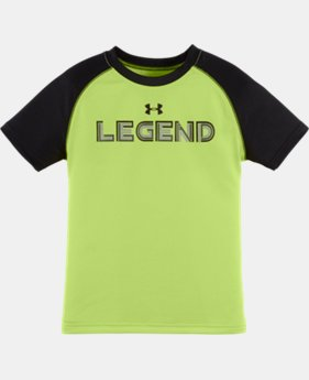 Boys' Pre-School UA Legend Short Sleeve T-Shirt