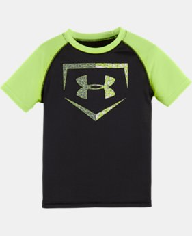 Boys' Pre-School UA Geo Home Base T-Shirt LIMITED TIME: FREE SHIPPING  $17.99