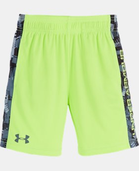 New Arrival Boys' Pre-School UA Anaglyph Eliminator Shorts LIMITED TIME: FREE SHIPPING  $24.99