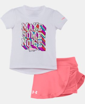 New Arrival Girls' Infant UA Make Some Noise Set LIMITED TIME: FREE SHIPPING  $34.99