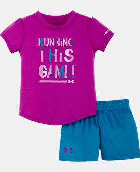 Girls' Infant UA Running This Game Set