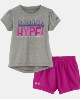 Girls' Infant UA Instant Hype Bodysuit Set