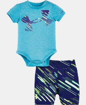 Girls' Newborn UA Lumos Bodysuit Set   $26.99