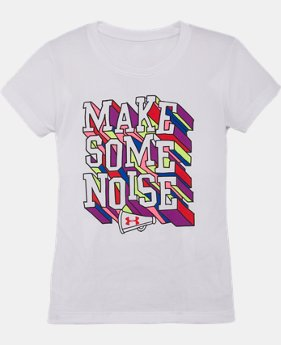 Girls' Pre-School UA Make Some Noise T-Shirt