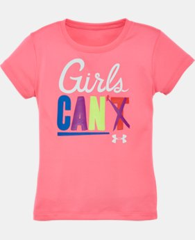 Girls' Pre-School UA Girls Can T-Shirt