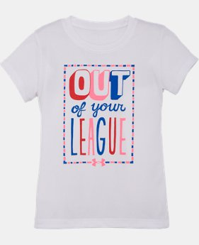 Girls' Pre-School UA Out Of Your League T-Shirt
