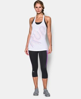 New Arrival  Women's UA Run Graphic Tank  1 Color $34.99