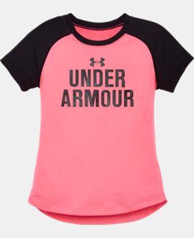 Girls' Pre-School UA Favorites T-Shirt   $16.99