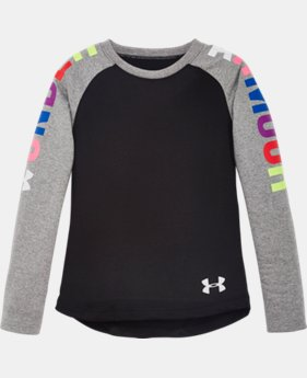 Girls' Pre-School UA Favorites Raglan Long Sleeve Shirt