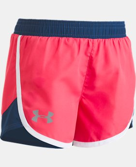 Girls' Pre-School UA Fast Lane Shorts  1 Color $11.24