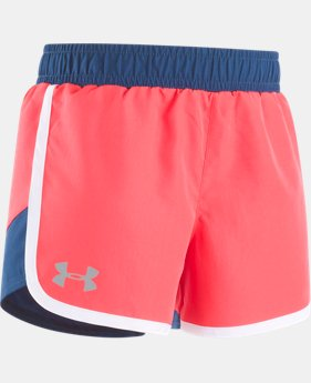 Girls' Toddler UA Fast Lane Shorts  1 Color $13.99