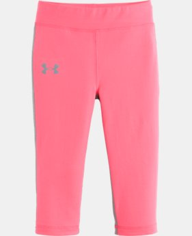 Girls' Toddler UA Front Back Capri LIMITED TIME: FREE U.S. SHIPPING 1 Color $20.99