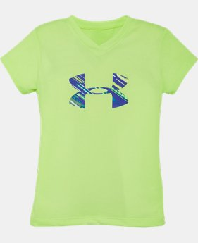 Girls' Toddler UA Lumos Big Logo T-Shirt  1 Color $13.99