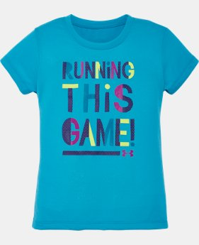 Girls' Toddler UA Running This Game T-Shirt  1 Color $13.99